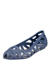 Jason Wu for Melissa Cutout Jelly Ballerina Flat