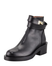 Givenchy Wrap-Strap Moto Boot