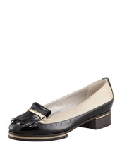 Jason Wu Two-Tone Kiltie Oxford