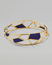 Ippolita Polished Rock Candy Mosaic Bangle, Lapis