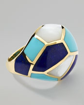 Ippolita Polished  Rock Candy Multi-Stone Mosaic Dome Ring