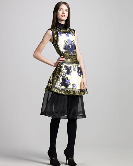 Crinoline-Hem Skirt