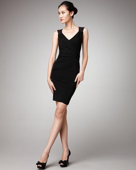 Lace-Back Dress