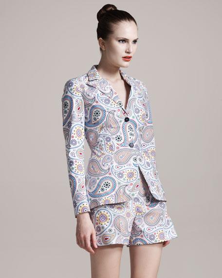 Jil Sander Paisley-Print Shorts