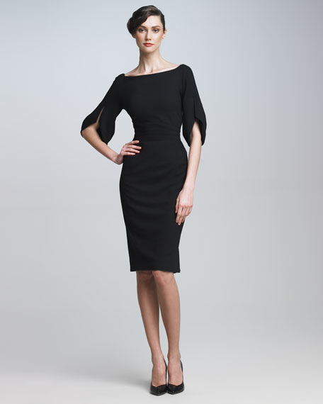 Split-Sleeve Dress