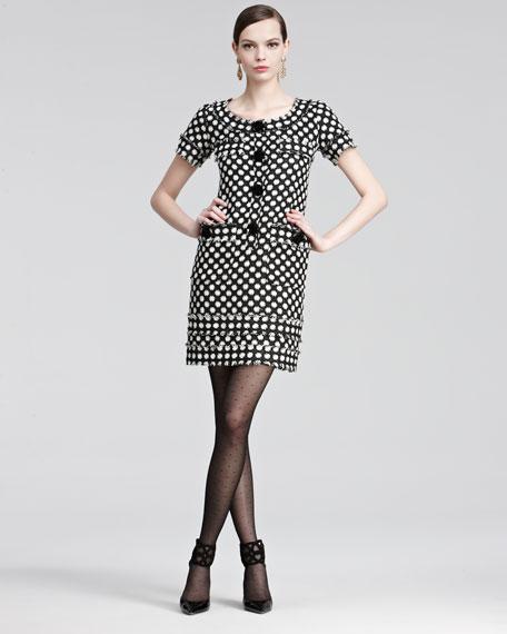 Tweed Fringe Dress