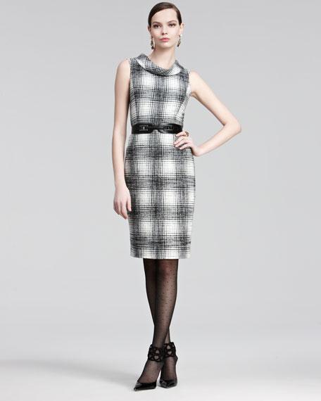 Plaid Wool Dress