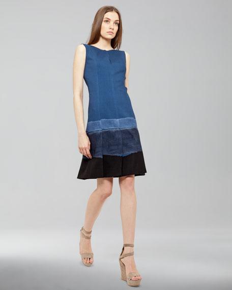 Ombre-Stripe Dress