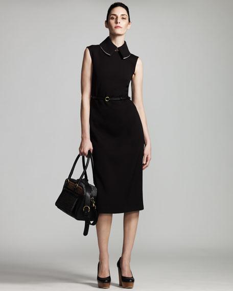 Detach-Collar Dress