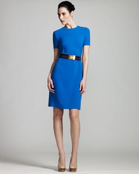Short-Sleeve Dress
