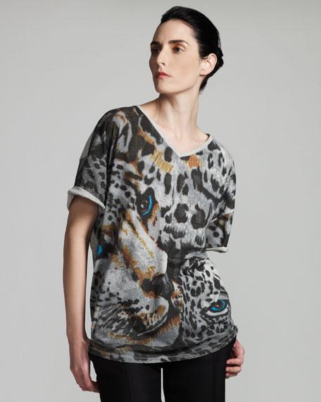 Leopard-Print Tee