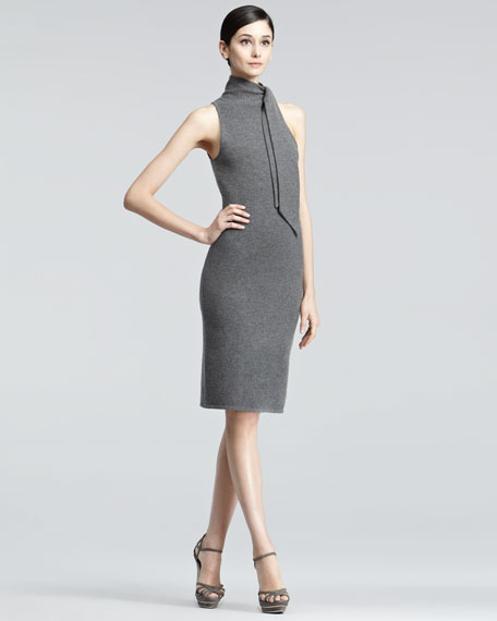 Sleeveless Cashmere Dress