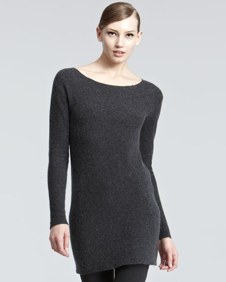 Fitted Cashmere Tunic