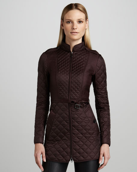 Mid-Length Quilted Jacket