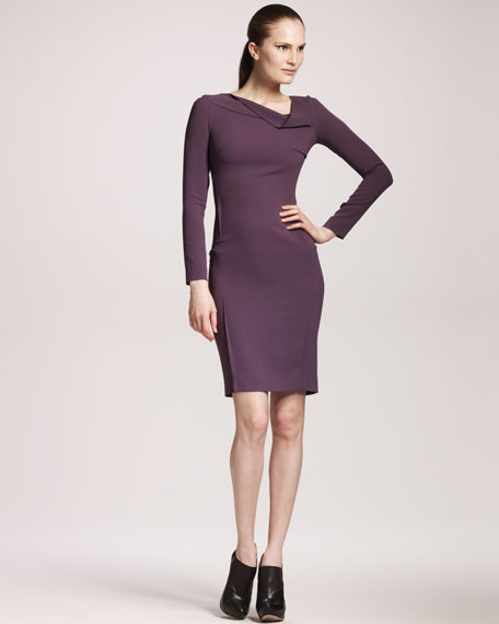 Magwitch Stretch-Crepe Dress
