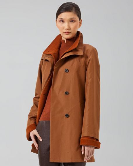 Fleece-Lined Coat