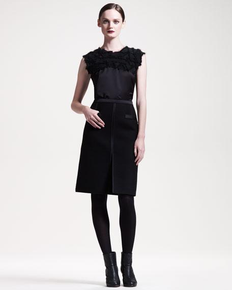Slit-Front Skirt