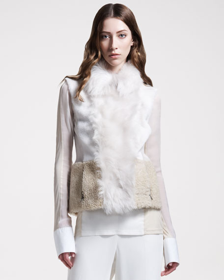 Mixed-Fur Vest