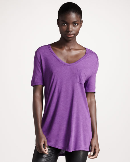 Classic Short-Sleeve Tee, Orchid