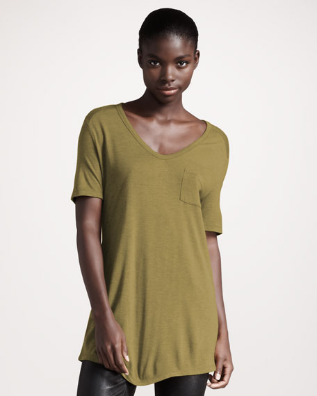 Classic Short-Sleeve Tee, Chartreuse
