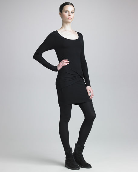 Cool Wool-Blend Jersey Leggings