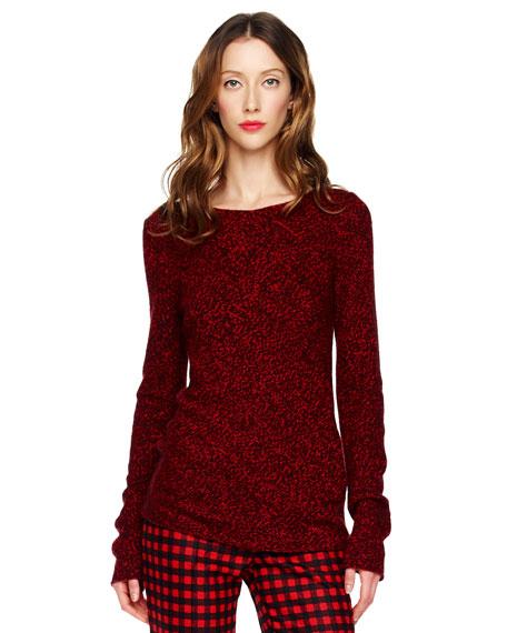 Marled Cashmere Sweater