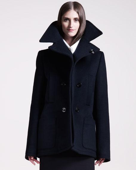 Exaggerated Pea Coat