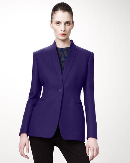 Shawl-Lapel Jacket