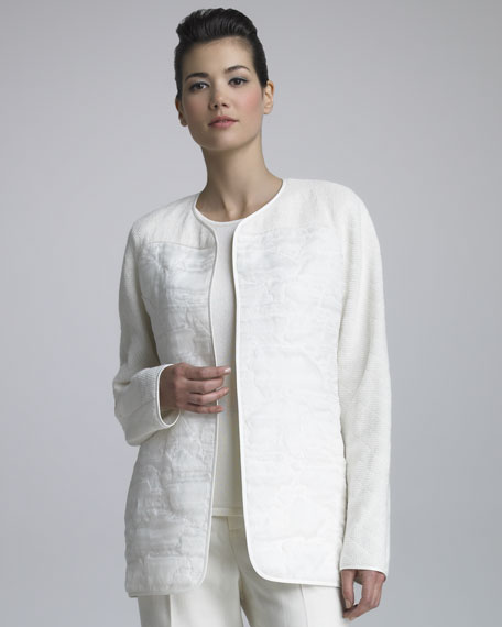 Textured Organza Jacket