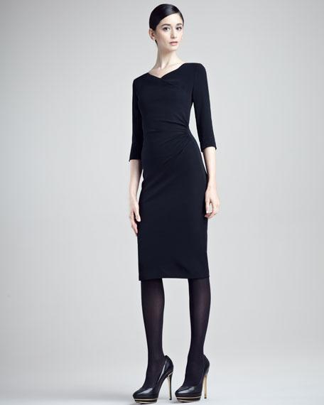 Diane Stretch Cady Dress
