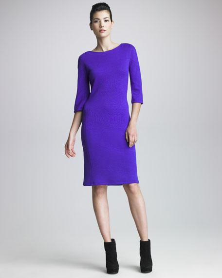 Three-Quarter Jersey Dress
