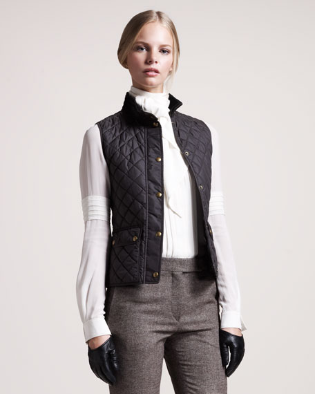 Weskit Quilted Vest