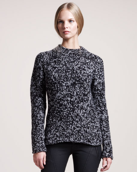Clare Hand-Knit Cashmere Sweater