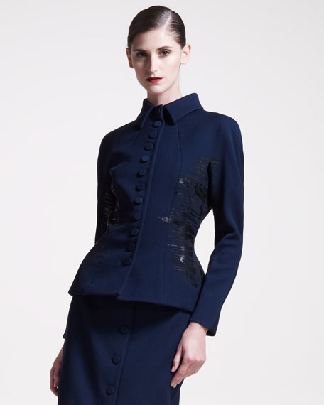 Fitted Peplum Jacket
