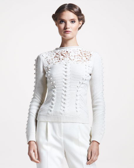 Nordic Lace Top