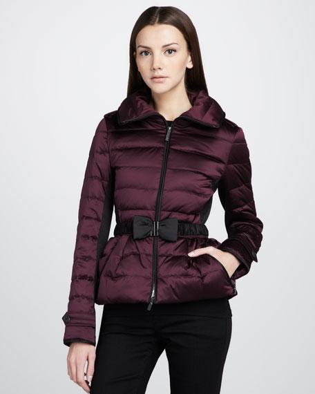 Zip-Pocket Puffer Jacket