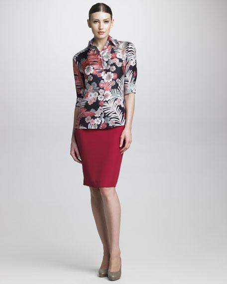 Cady Pencil Skirt