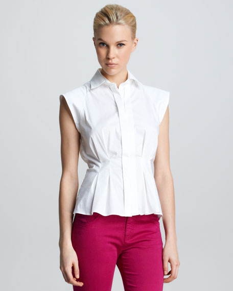 BLOUSE COVERED PLACKET