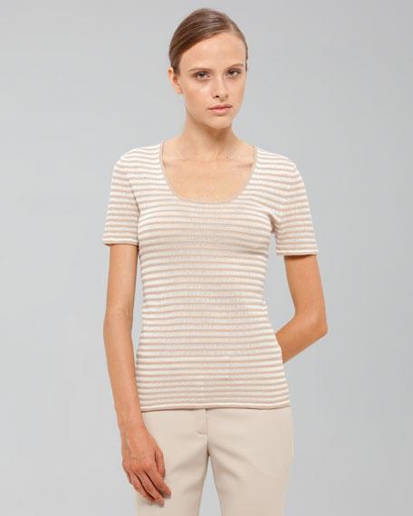 Striped Short-Sleeve Tee