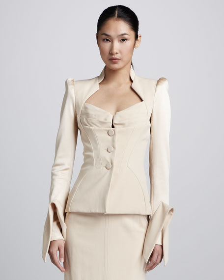 Sculptural Suiting Jacket