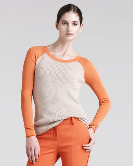 Thermal Baseball Sweater