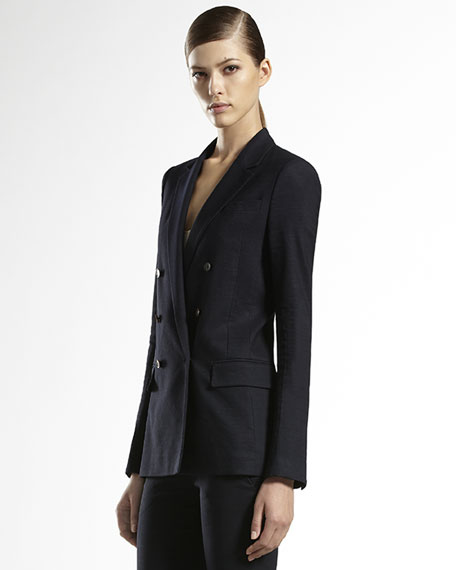 Flora-Lined Stretch Jacket