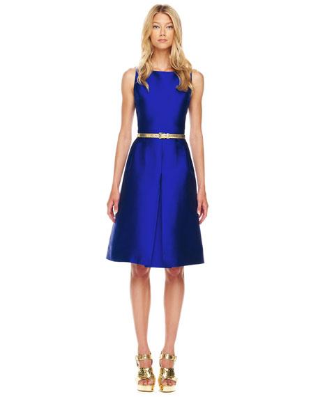 A-Line Shantung Dress