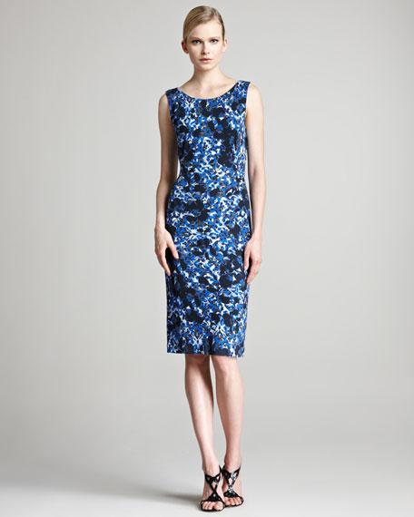 Corel Floral-Print Jersey Dress