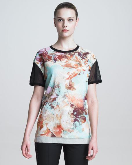 Floral-Print T-Shirt