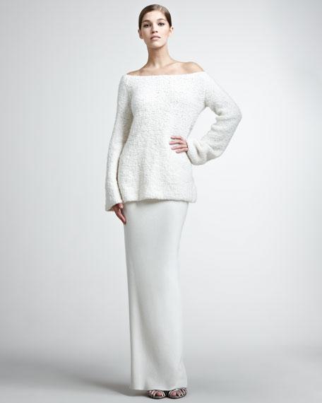 Cashmere Long Skirt