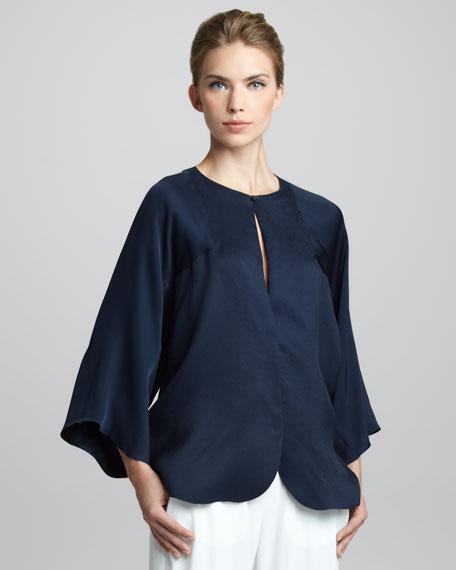 Silk Kimono Top