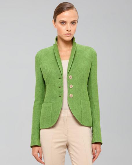 Panama Stretch Jacket, Grass
