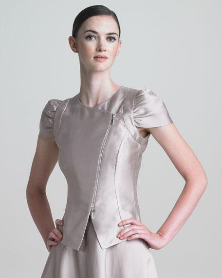 Asymmetric Gazar Jacket