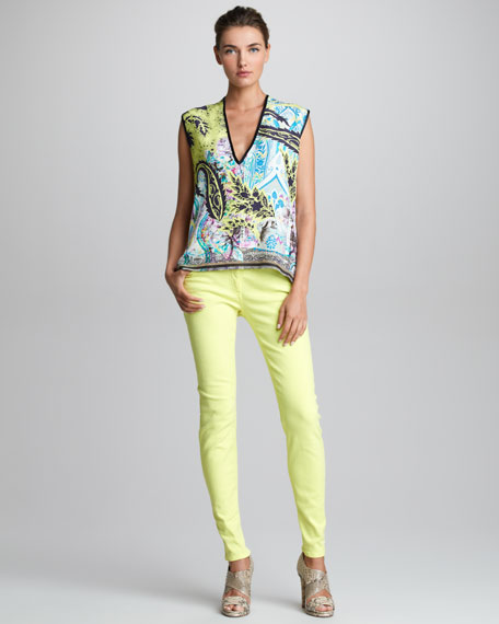 Five-Pocket Jeans, Lemon